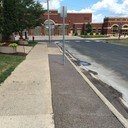 New sidewalks and steps